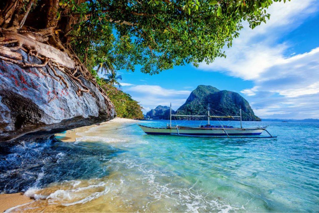 Wyspa Palawan na Filipinach